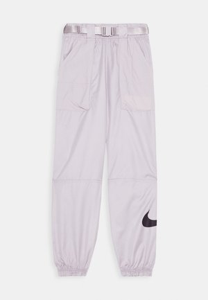 PANT - Jogginghose - silver/lilac/black