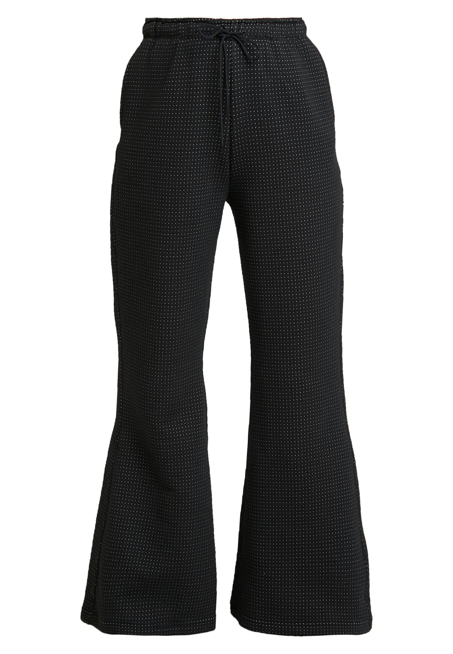 Nike Sportswear PANT - Pantaloni sportivi - black/white JGTi7Fxe