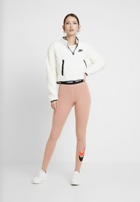 Nike Sportswear - Leggings - Trousers - rose gold - 2