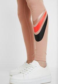 Nike Sportswear - Leggings - Trousers - rose gold - 4
