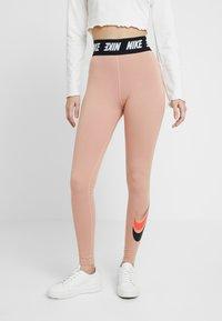 Nike Sportswear - Leggings - Trousers - rose gold - 0