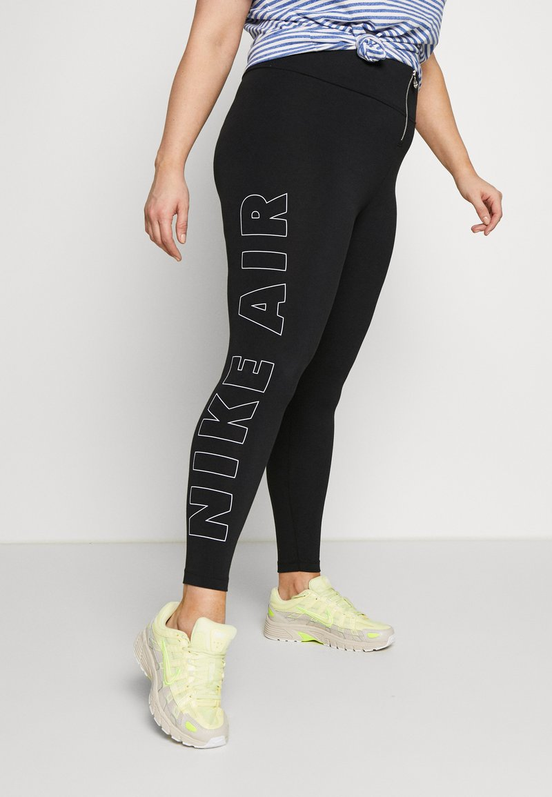 Nike Sportswear - AIR LGGNG GX PLUS - Leggings - black