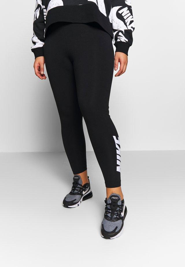 CLUB - Legging - black/white