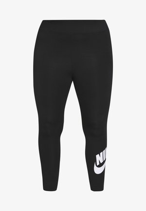 LEGASEE PLUS - Legging - black/white