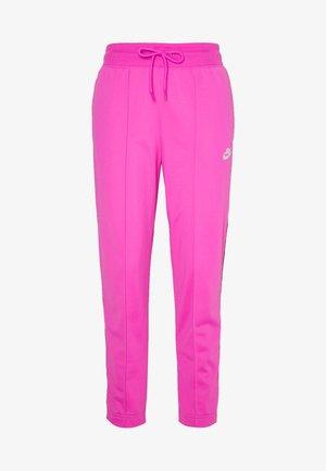 Teplákové kalhoty - fire pink/black