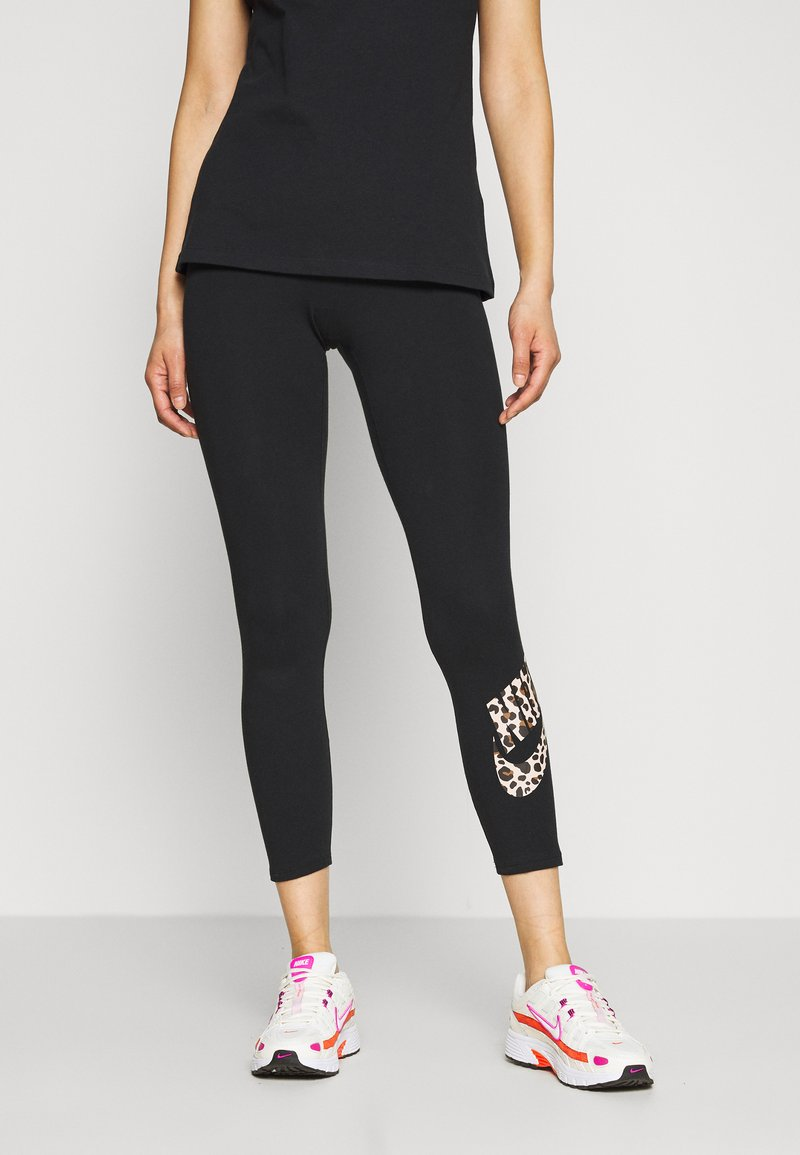 Nike Sportswear - PACK - Leggings - Trousers - black