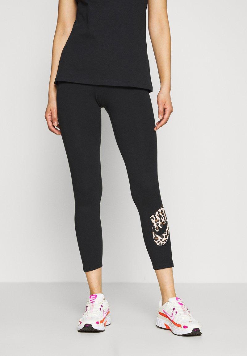 Nike Sportswear - PACK - Leggings - black
