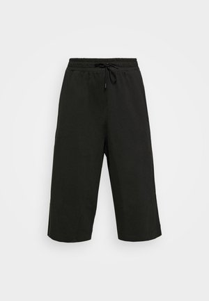 W NSW CAPRI JRSY PLUS - Joggebukse - black