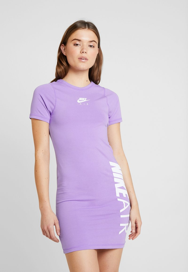 Nike Sportswear - AIR DRESS - Etuikleid - space purple