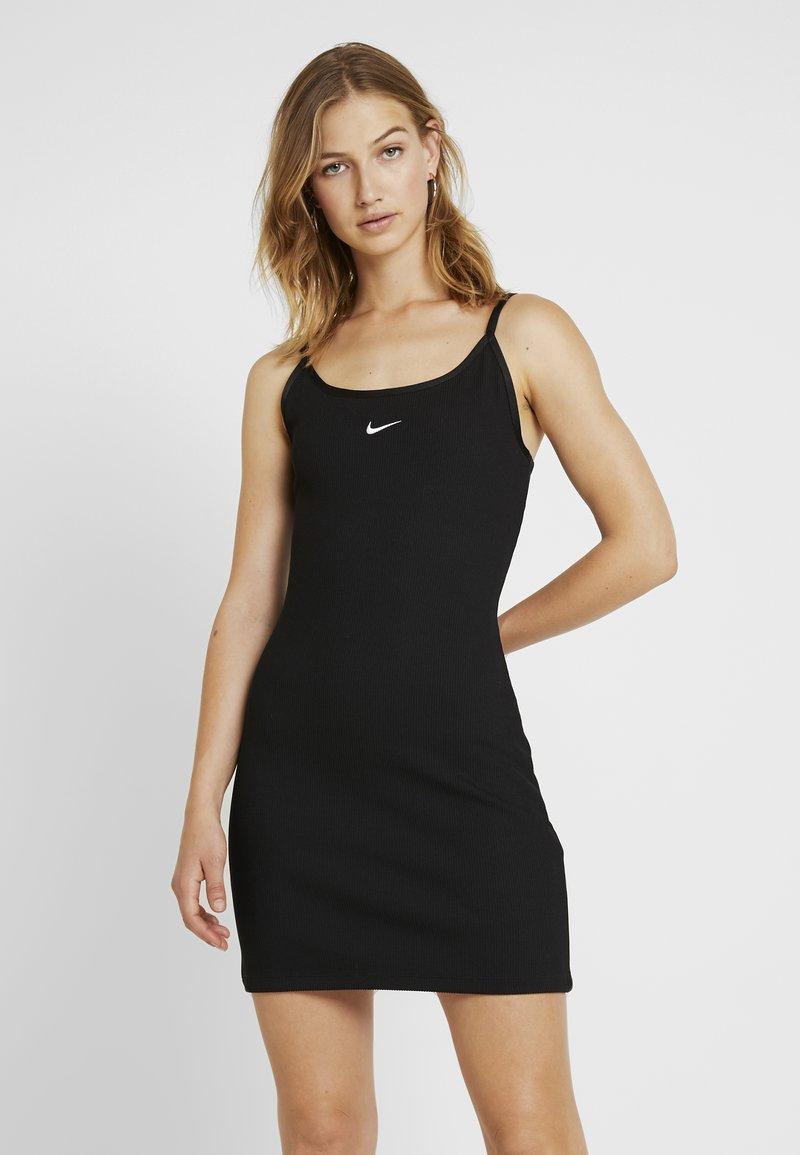 Nike Sportswear - DRESS - Shirt dress - black