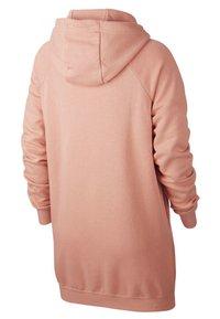 Nike Sportswear - W NSW ESSNTL FLC  - Sukienka z dżerseju - pink quartz/white - 1