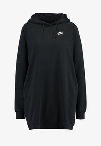 Nike Sportswear - W NSW ESSNTL FLC  - Sukienka z dżerseju - black - 4
