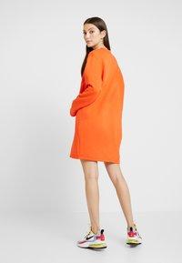 Nike Sportswear - AIR CREW  - Day dress - team orange - 2