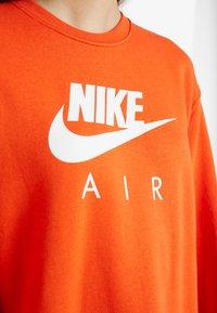 Nike Sportswear - AIR CREW  - Day dress - team orange - 5