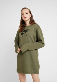 Nike Sportswear - AIR CREW  - Denní šaty - medium olive - 0