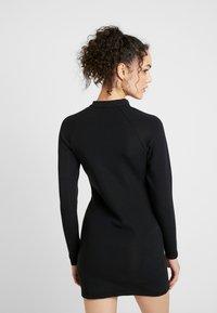 Nike Sportswear - W NSW ESSENTIAL LS - Etui-jurk - black/white - 2