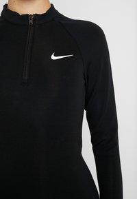Nike Sportswear - W NSW ESSENTIAL LS - Etui-jurk - black/white - 5