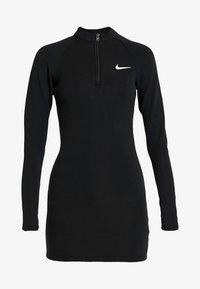 Nike Sportswear - W NSW ESSENTIAL LS - Etui-jurk - black/white - 4