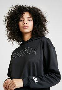 Nike Sportswear - Korte jurk - black/white/ice silver - 4
