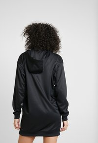 Nike Sportswear - Korte jurk - black/white/ice silver - 2