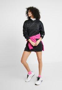Nike Sportswear - Korte jurk - black/white/ice silver - 1