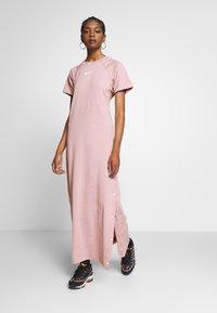 Nike Sportswear - DRESS UP IN AIR - Denní šaty - stone mauve - 0