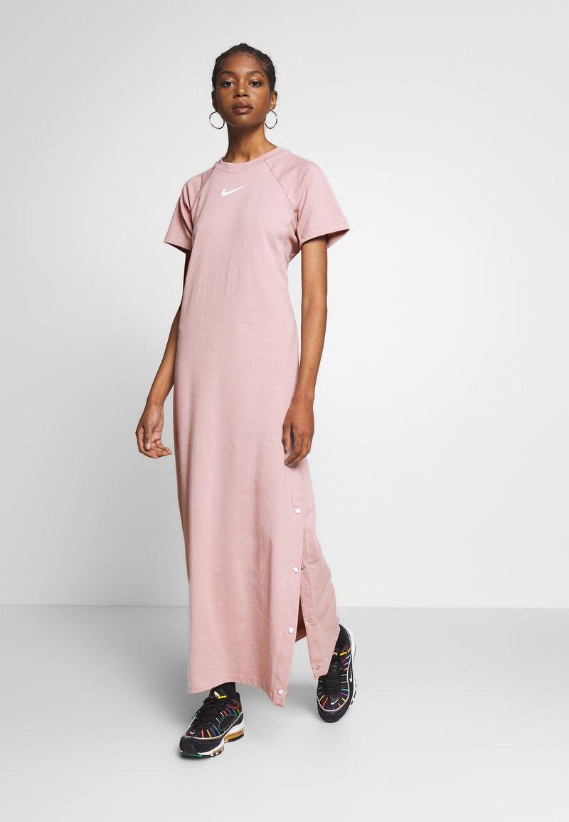 Nike Sportswear - DRESS UP IN AIR - Denní šaty - stone mauve
