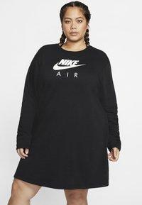 Nike Sportswear - AIR  - Sukienka z dżerseju - black - 0