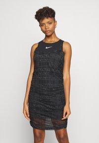 Nike Sportswear - INDIO - Day dress - black/white - 0