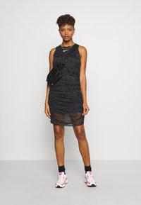 Nike Sportswear - INDIO - Day dress - black/white - 1