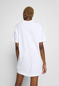 Nike Sportswear - DRESS - Jersey dress - white/black - 2