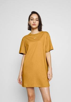 W NSW ESSNTL DRESS - Trikoomekko - pollen rise/white