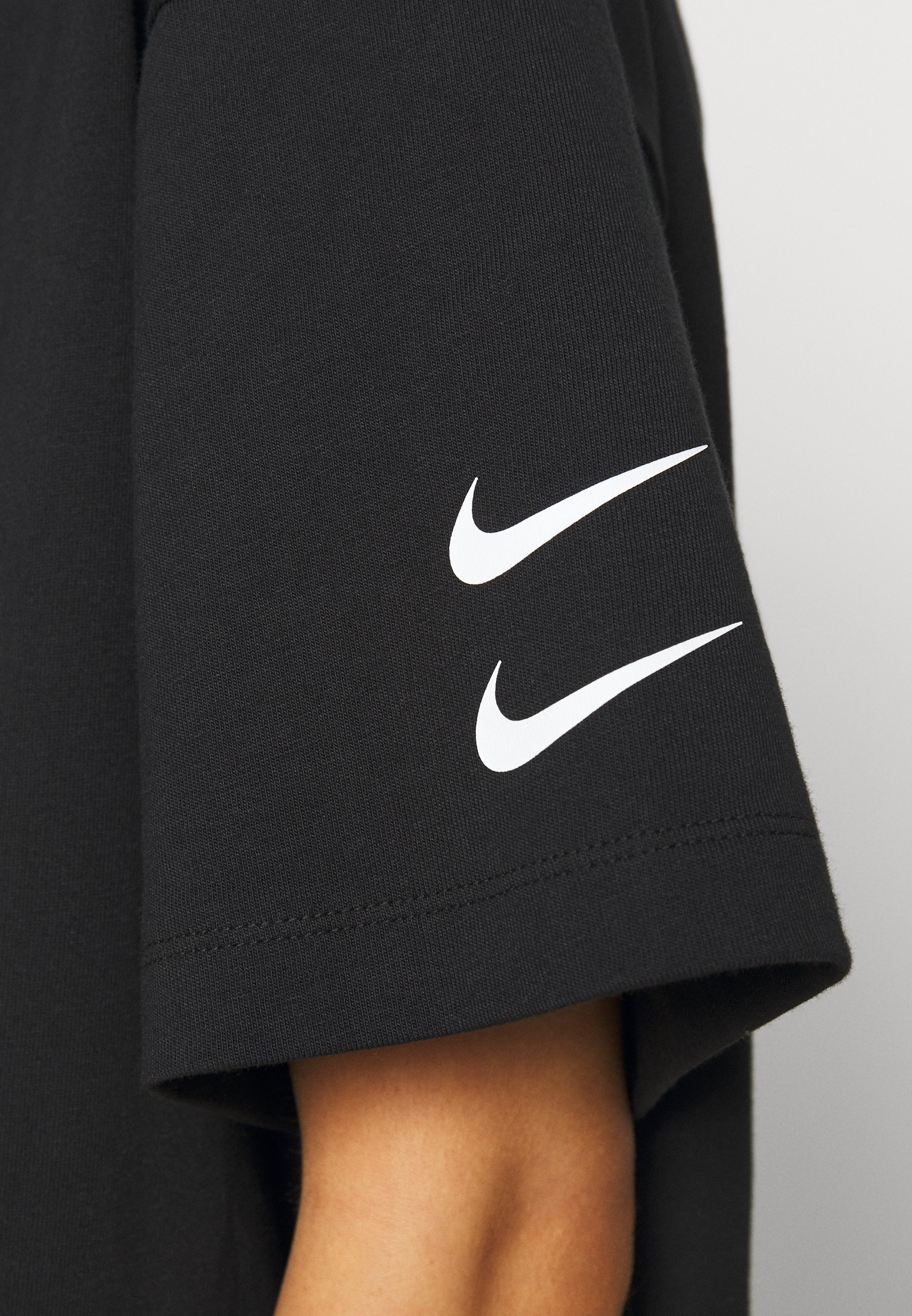 Nike Sportswear Dress - Robe En Jersey Black/white