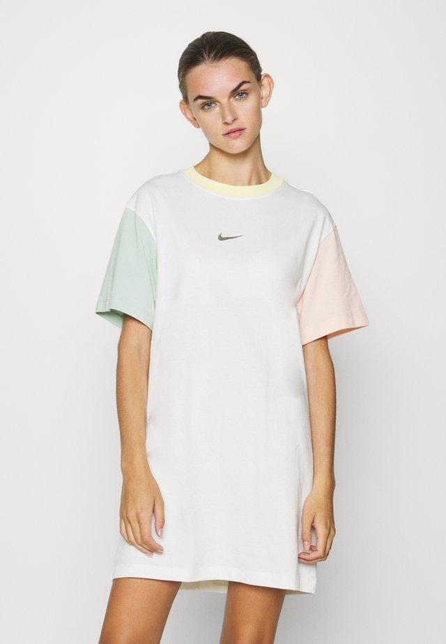 DRESS - Jersey dress - sail