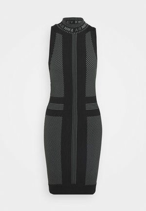 AIR  - Vestido de tubo - black/white