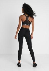 Nike Sportswear - BACK BRA - Top - black/white - 2