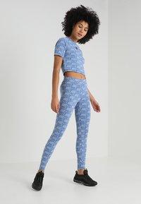 Nike Sportswear - AIR - T-Shirt print - indigo storm - 1