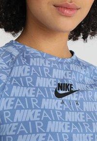 Nike Sportswear - AIR - T-Shirt print - indigo storm - 5