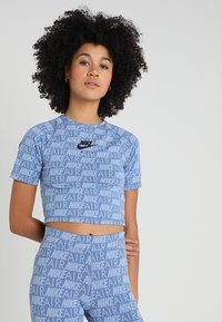 Nike Sportswear - AIR - T-Shirt print - indigo storm - 0