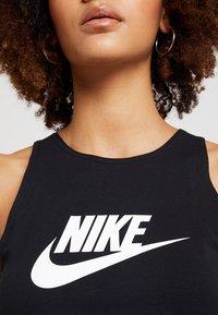 Nike Sportswear - TANK - Débardeur - black/white - 5
