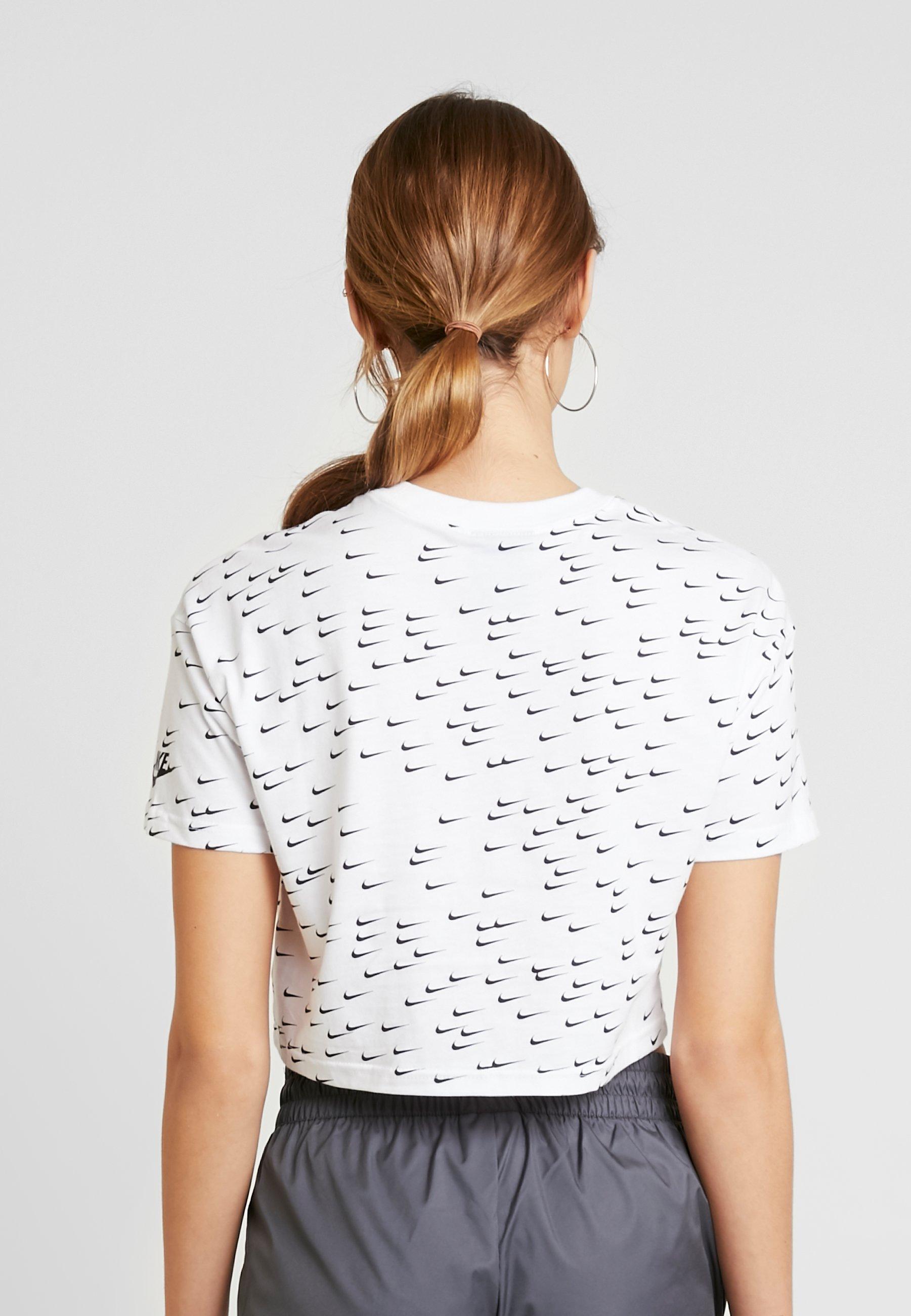 Nike Sportswear T-Shirt print white/black