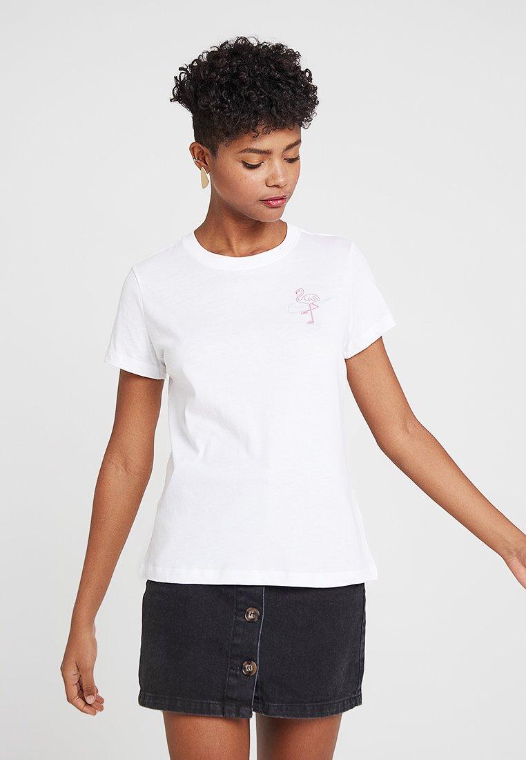 Nike Sportswear - TEE SURF - T-Shirt print - white