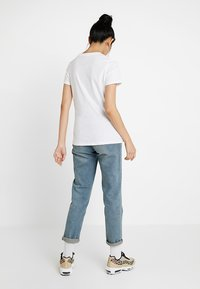 Nike Sportswear - TEE ICON FUTURA - Print T-shirt - white/black - 2