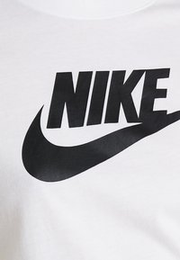Nike Sportswear - TEE ICON FUTURA - Print T-shirt - white/black - 5