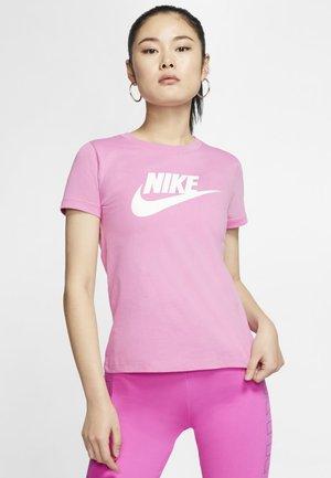 TEE ICON FUTURA - T-shirt med print - magic flamingo/white