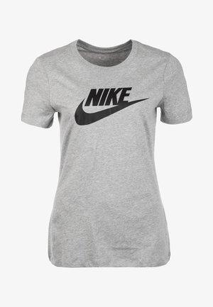 TEE ICON FUTURA - Print T-shirt - grey