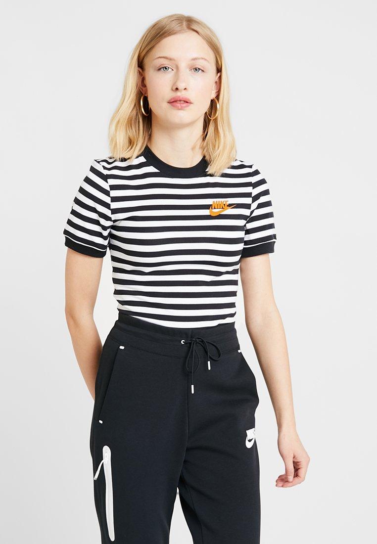 Nike Sportswear - BODYSUIT  - T-shirt imprimé - white/black