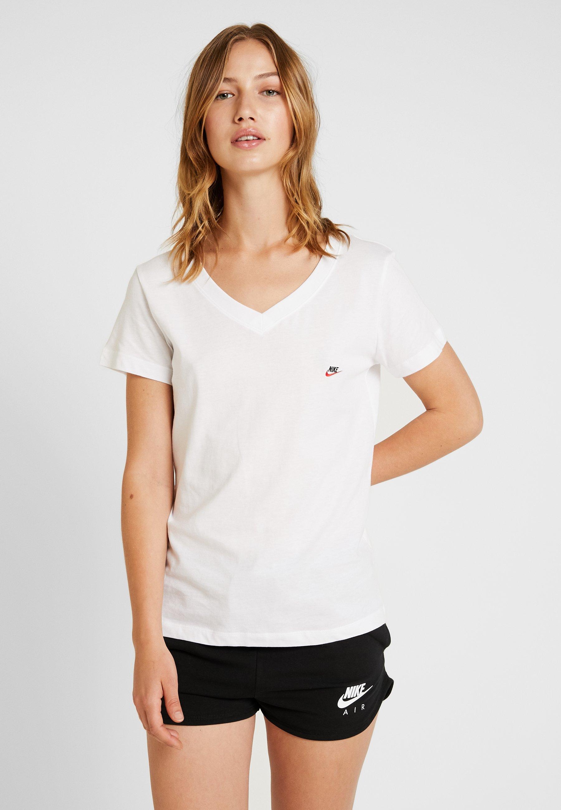 Nike Sportswear TEE - T-shirts - white