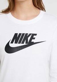 Nike Sportswear - TEE ICON - Long sleeved top - white/black - 5