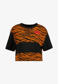 Nike Sportswear - T-shirts med print - black/university red - 3